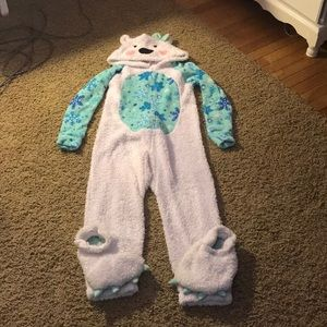 Polar bear onesie!